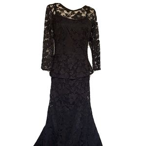 LF Lace Formal Prom Gown Evening Dress mermaid
